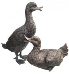 canard en bronze BRZ0384 ( H .45 x L .30 Cm ) Poids : 10 Kg