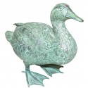canard en bronze BRZ0859V ( H .20 x L .23 Cm ) Poids : 2 Kg