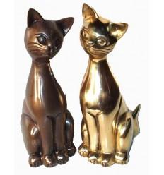 Bronze animalier : chat en bronze BRZ0090 ( H .30 Cm ) Poids : 4 Kg