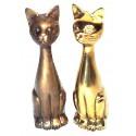 chat en bronze BRZ0091 ( H .38 Cm ) Poids : 4.5 Kg
