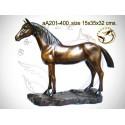 cheval en bronze aa201-400 ( H .32 x L .35 Cm )