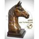 cheval en bronze aa282-100  ( H .22 x L .14 Cm )