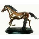 cheval en bronze BRZ0055-12 ( H .30 x L .45 Cm )