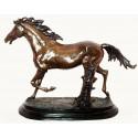 cheval en bronze BRZ0055-9 ( H .22 x L .30 Cm ) Poids : 3 Kg