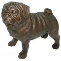 Chien en bronze BRZ1093  ( H .31 x L .36 Cm ) 6 kg