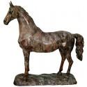 Cheval en bronze BRZ1315V  ( H .115 x L .115 Cm )  Poids : 48 Kg