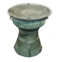 Table basse de salon en bronze BRZ1351 ( H .47 x L .62 Cm )