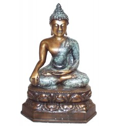 Bouddhas BRZ0845 ( H .46 x L .30 Cm ) Poids : 6 Kg