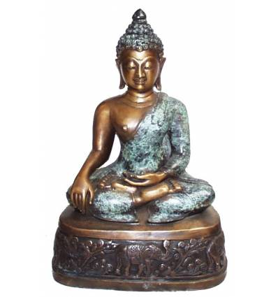 Bouddhas BRZ0847 ( H .46 x L .30 Cm ) Poids : 6 Kg