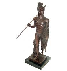 Sculpture d'homme en bronze BRZ1033/SM118 ( H .63 x L .23 Cm )