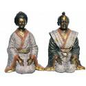 Sculpture divinité asiatique en bronze BRZ0041-14 ( H .35 x L . Cm ) Poids : 13 Kg