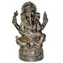 Sculpture divinité asiatique en bronze BRZ1285 ( H .28 x L .18 Cm ) Poids : 2 Kg