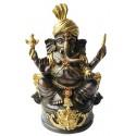 Sculpture divinité asiatique en bronze BRZ1286 ( H .18 x L .13 Cm ) Poids : 1 Kg