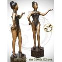 Femme AN167-100  ( H .132 x L .65 Cm )