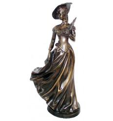 Femme BRZ0741 ( H .51 x L . Cm ) Poids : 9 Kg