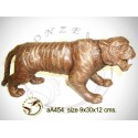 tigre en bronze aa454-100  ( H .12 x L .30 Cm )