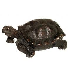 tortue en bronze BRZ0143-6  ( H .15 x L .33 Cm )  Poids : 3 Kg