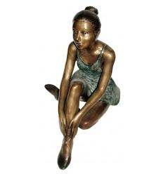 Sculpture de danseuse en bronze BRZ1084 ( H .66 x L :71 Cm ) Poids : - Kg