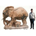 éléphant en marbre NA203
