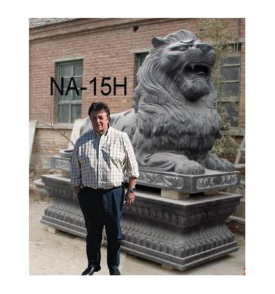 lion en marbre NA15h