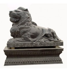 lion en marbre NA15r