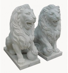 lion en marbre NA66