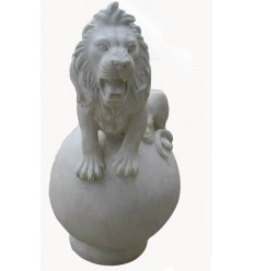 lion en marbre NA90