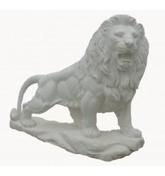 lion en marbre NA94