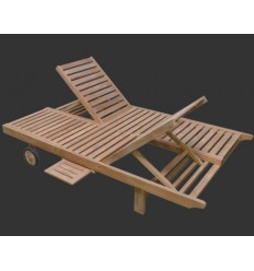 Chaise longue DoubleSunlounger