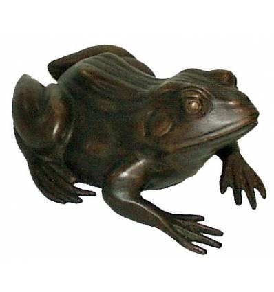 grenouille en bronze BRZ0631-15  ( H .38 x L . Cm )  Poids : 5 Kg