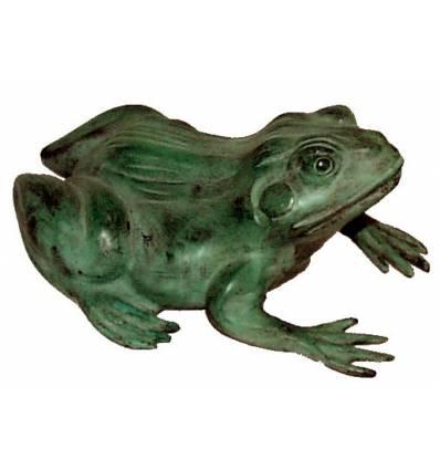 grenouille en bronze BRZ0631V-15  ( H .38 x L . Cm )  Poids : 5 Kg