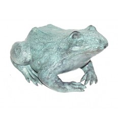 grenouille en bronze BRZ0632V  ( H .18 x L . Cm )  Poids : 6 Kg