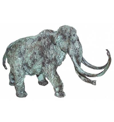 mamouth en bronze BRZ0906V  ( H .13 x L .20 Cm )  Poids : 4 Kg