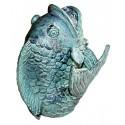 poisson en bronze BRZ0213v-8  H .20