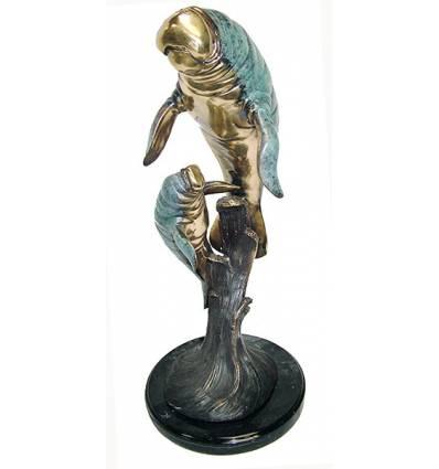 morse en bronze BRZ1170-20  ( H .51 x L . Cm )  Poids : 6,5 Kg