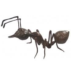 fourmie en bronze BRZ0483M ( H .25 x L .48 Cm ) Poids : 4,5 Kg