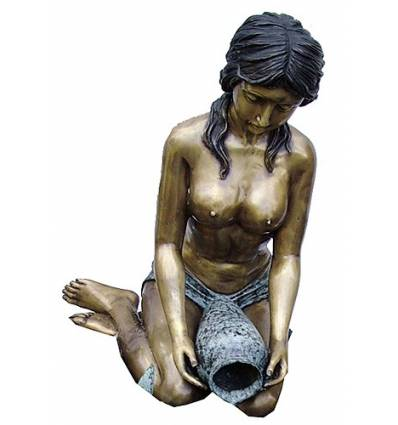 Fontaine bassin bronze BRZ1298