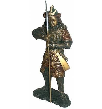 Sculpture divinité asiatique en bronze BRZ0343-70 ( H .178 x L . Cm ) Poids : 110 Kg