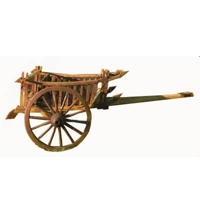 charrette de jardin en bois CHAR02