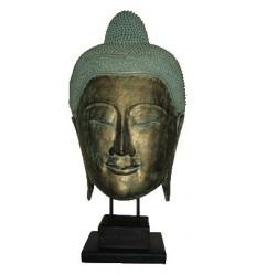 95 Cm -  bouddha en bois - Ref. : BOU52V-37