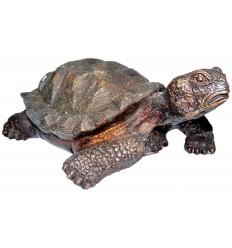 tortue en bronze BRZ0143-5  ( H .12 x L .27 Cm )  Poids : 2 Kg