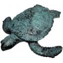 tortue en bronze BRZ0573V ( H .5x L .22 Cm ) Poids : 1 Kg