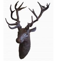 Cerf en bronze BRZ1421 ( H .134 x L .92 Cm )