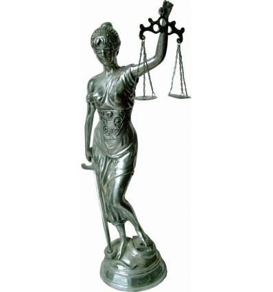 Justice en Aluminium ALU0910 ( H .40 X L . 15 CM )