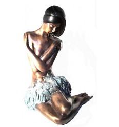 Femme BRZ0028 ( H .35 x L .25 Cm ) Poids : 5 Kg