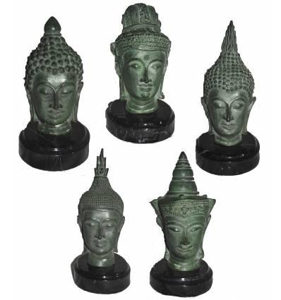 Tête de bouddha BRZ0109-12 ( H . x L . Cm )