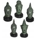Tête de bouddha BRZ0109-12 ( H .30 x L . Cm )