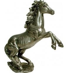 Sculpture d'un cheval en aluminium Réf : ALU1435