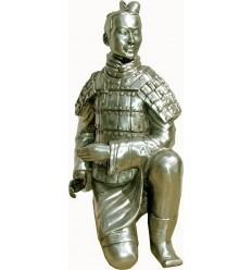 Sculpture guerrier japonais Réf : ALU1027