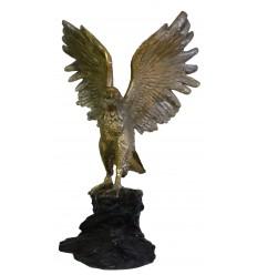 Aigle en bronze BRZ0424o  ( H.104 x L.71 cm)  Poids : 35 kh